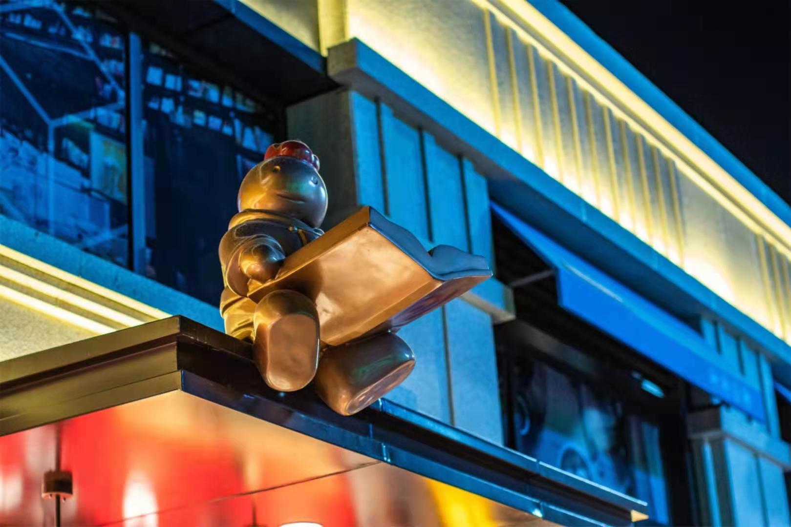 玻璃钢卡通雕塑_玻璃钢贵州_贵阳卡通雕塑_玻璃钢卡通雕塑设计公司